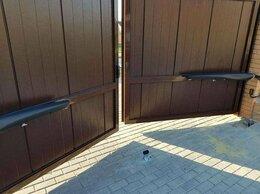 Заборы и ворота - Ворота распашные alutech 4000*2000, 0