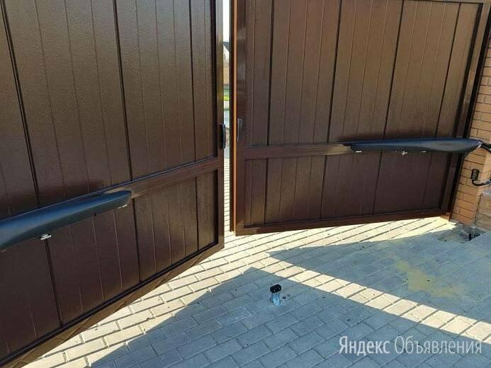 Ворота распашные alutech 4000*2000 по цене 89000₽ - Заборы, ворота и элементы, фото 0