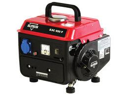 Электрогенераторы - Генератор бензиновый Elitech БЭС 950Р, 0