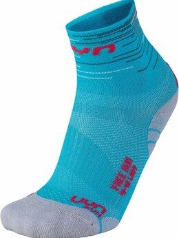 Колготки и носки - Носки UYN Free Run Turquoise/Coral ж., 0