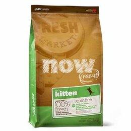 Корма  - Корм Now Fresh для котят беззерновой с индейкой ут, 0