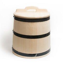 Бочки, кадки, жбаны - Кадка деревянная для солений 30 литров, 0