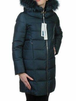 Пуховики - Пальто зимнее с мехом (холлофайбер, натуральный…, 0