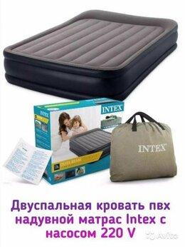 Кровати - Кровать новая двуспальная со встроенным электр, 0