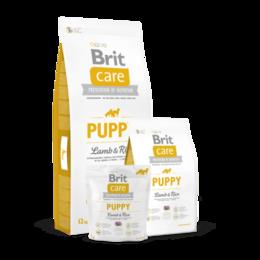 Корма  - Корм Brit Care Puppy Lamb & Rice для щенков всех п, 0