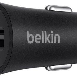 Защитные пленки и стекла - Автомобильное зарядное устройство Belkin F7U032bt04-BLK Black, 0