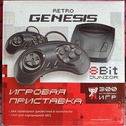 Игровые приставки - Игровая консоль Retro Genesis 8 Bit Junior + 300…, 0