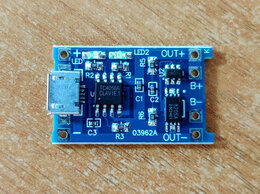Радиодетали и электронные компоненты - TP4056 Контроллер заряда Li-Ion аккум, 0