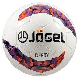 Мячи - Мяч футбольный JS-500 Derby №5, 0