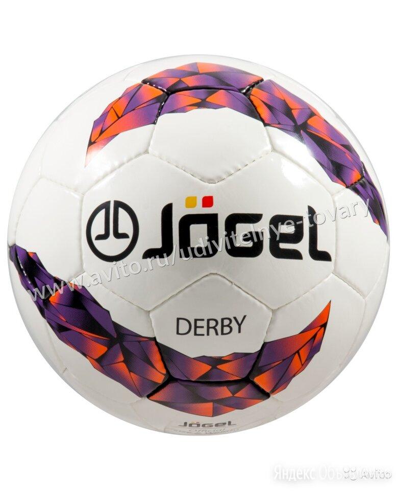 Мяч футбольный JS-500 Derby №5 по цене 1190₽ - Мячи, фото 0