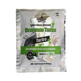 Ингредиенты для приготовления напитков - Дрожжи спиртовые BRAGMAN Turbo, 0