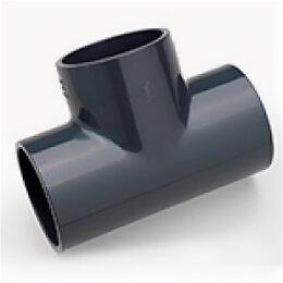 Канализационные трубы и фитинги - Тройник ПВХ Plimat  90 гр. д.63х32, 0