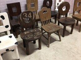 Мебель для учреждений - Стулья из массива дерева, 0