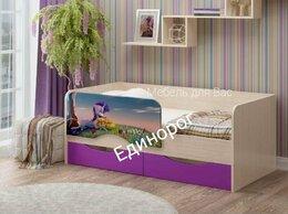 Кроватки - Детская кровать Юниор-12 Единорог, 0