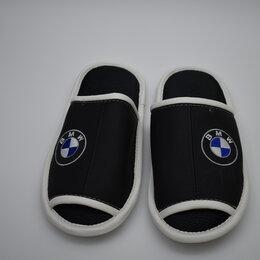 Домашняя обувь - Тапочки кожаные мужские, 0