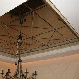 Зеркала - Зеркальное панно Бронза на потолок, 0