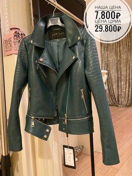 Куртки - Косуха натуральная кожа Италия кожаная куртка , 0