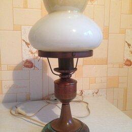 Настольные лампы и светильники - Лампа настольная, СССР, винтаж, 0