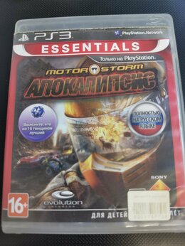 Игры для приставок и ПК - Диск PS3 Моtor Storm: Апокалипсис , 0