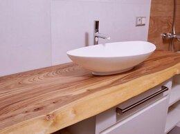 Тумбы - столешница в ванную из слэба, 0