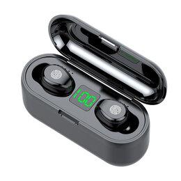 Наушники и Bluetooth-гарнитуры - Беспроводные наушники TWS F9 Bluetooth, 0