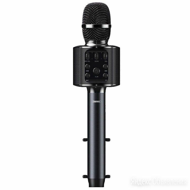 Караоке микрофон Remax K-05 с держателем по цене 3200₽ - Микрофоны и усилители голоса, фото 0