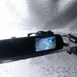 Видеорегистраторы - Зеркало видеорегистратор с камерой заднего вида, 0