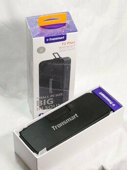 Портативная акустика - Tronsmart T2 Plus Bluetooth колонка. Новая, 0