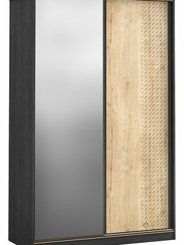 Шкафы, стенки, гарнитуры - Шкаф-купе Cilek Black 20.58.1006.00, 0