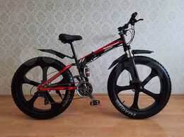 Велосипеды - Новый фэтбайк, литье, гидравлика, 24 ск, 0