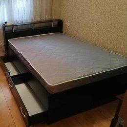 Кровати - Кровать с матрасом  и ящикамм, 0