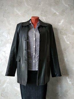 Куртки - Куртка - пиджак женская , кожаная  L ( 46 - 48 ), 0
