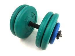 Гантели - Гантель разборная цветная 46.5 кг, 0