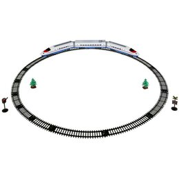 """Детские железные дороги и автотреки - Железная дорога """"Играем вместе"""" на батарейках, со светом и звуком, ..., 0"""