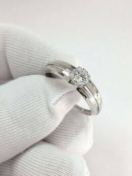 Кольца и перстни - Золотое кольцо с Фианитами женское, размер 18,5, 0