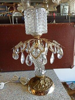 Настольные лампы и светильники - Лампа хрустальная 1970-80-е гг, 0