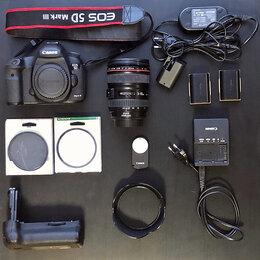Фотоаппараты - Canon EOS 5D mark III в полной оснастке, 0
