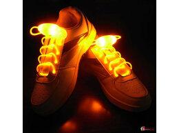 Стельки и шнурки - Светодиодные шнурки, 0
