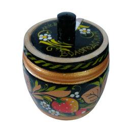 Продукты - Мед Вологодский в бочонке деревянном (хохлома) 400 г, 0