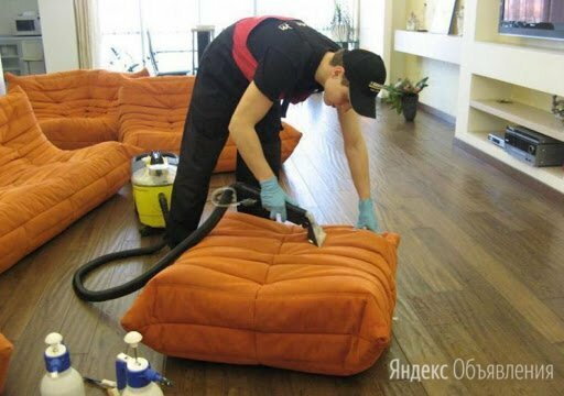 Химчистка мягкой мебели с выездом на дом - Бытовые услуги, фото 0