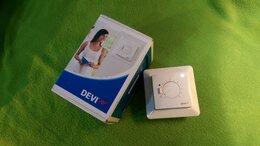 Комплектующие для радиаторов и теплых полов - Терморегулятор DEVI для теплого пола D-530 с…, 0
