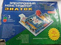 Конструкторы - Электронный конструктор Знаток, 0