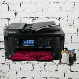 Принтеры, сканеры и МФУ - МФУ Epson WorkForce WF-7710 A3 4 цв. (ПРОШИТ), 0
