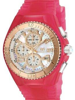 Наручные часы - Technomarine JellyFish бриллианты малиновые новые, 0