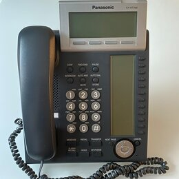 Системные телефоны - Panasonic KX-NT366 - IP-телефон. Черный, в наличии., 0