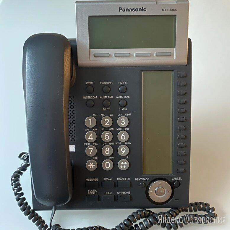 Panasonic KX-NT366 - IP-телефон. Черный, в наличии. по цене 7500₽ - Системные телефоны, фото 0