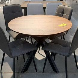 Столы и столики - Деревянный стол ПР-4 в стиле ЛОФТ, 0