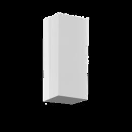 Водопроводные трубы и фитинги - Tруба 310х310мм, L=1м с переходником (INOX) , 0