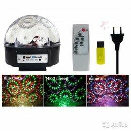 Световое и сценическое оборудование - Дискошар с Bluetooth LED Magic Ball c mp3 плеером, 0