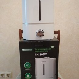 Очистители и увлажнители воздуха - Ультразвуковой увлажнитель Leberg LH-206W, 0